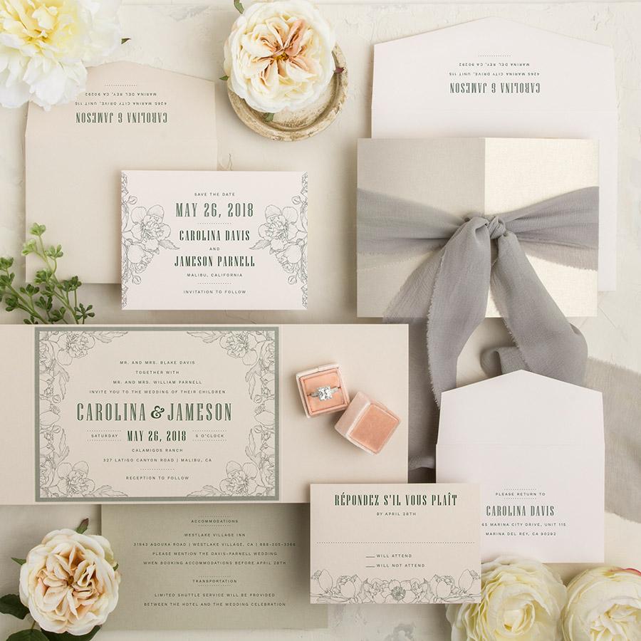 Custom Envelopments Invitation Printing | Baby Shower