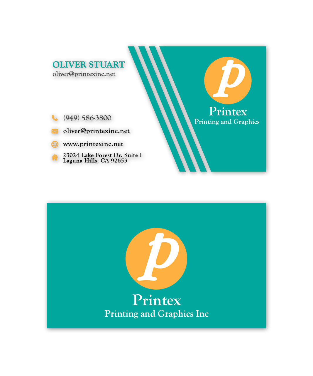 Business cards printex printing and graphics inc printex printing and graphics business cards reheart Images
