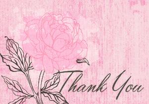 Printex Printing and Graphics thank you greeting card