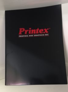 Printex Printing and Graphics presentation folders