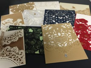 Printex Printing and laser cut wedding invitations