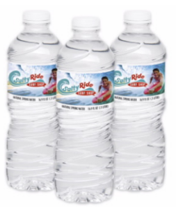 Get your logo on water bottles at your next client meeting.