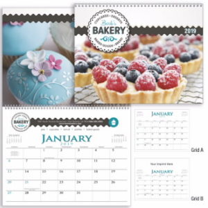 Get professionally printed and branded executive calendars for your best customers.