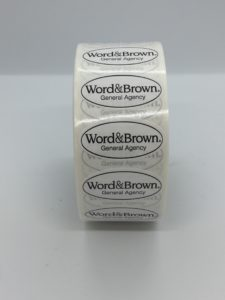 Custom-made Roll Label Stickers