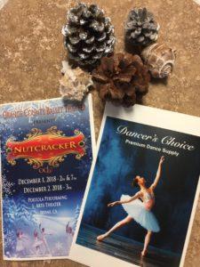 Custom printed ballet program