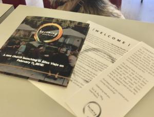 Custom printed church booklet
