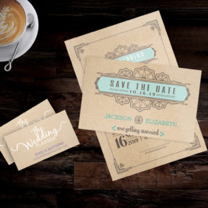 Get retro looking business cards