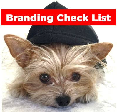 Branding Check list for your products and services.