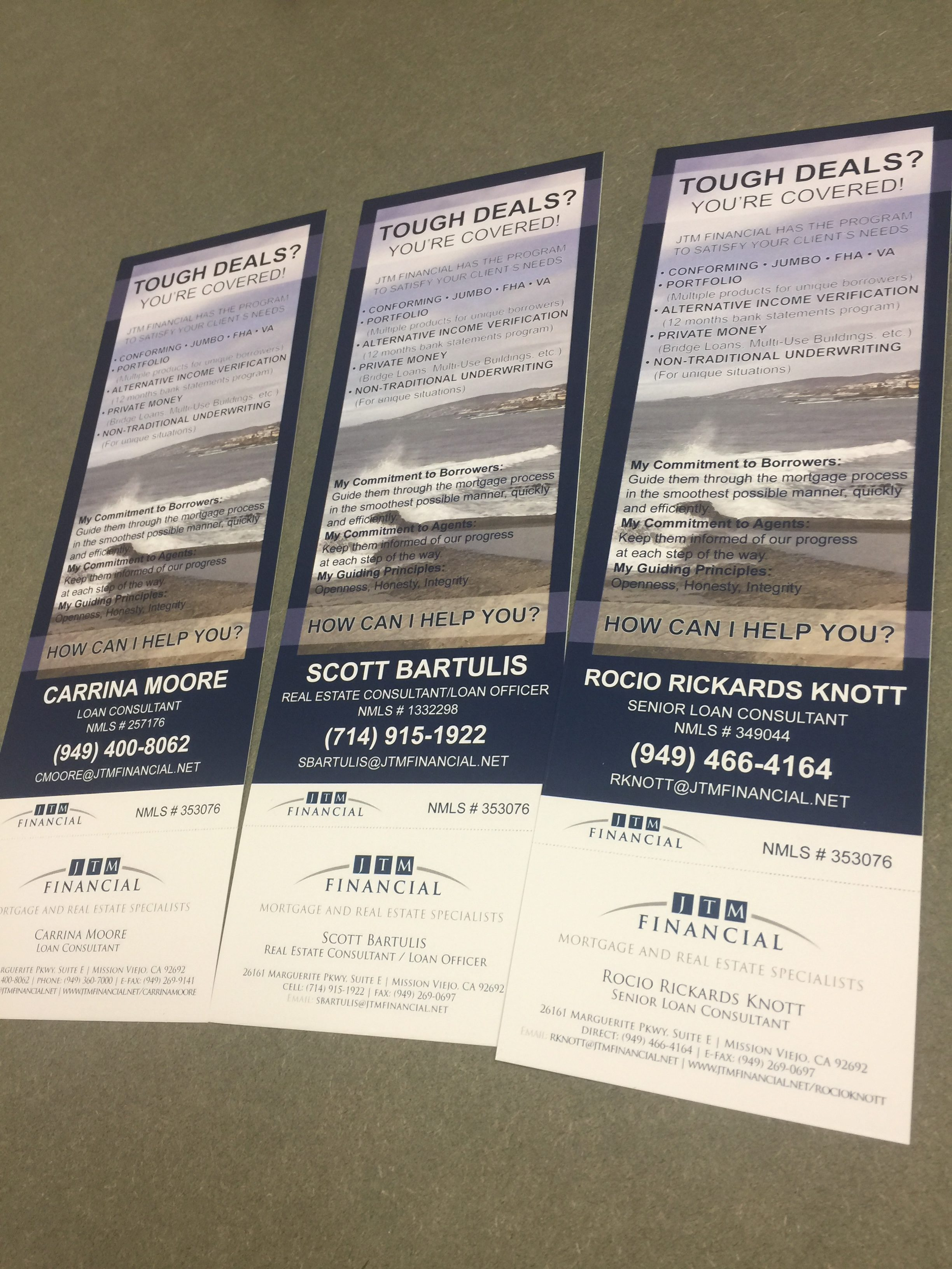 rack card printing in Orange County