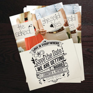 Save the Date cards are the best way to ensure your guests attend your party.