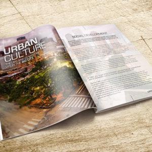 Custom printed large booklet