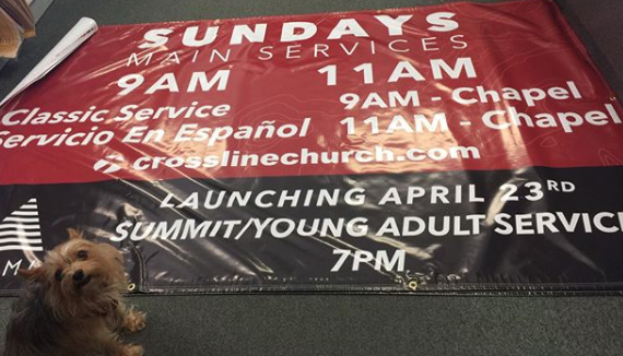 Church Printed Banners