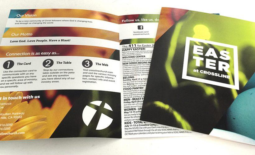 Custom Printed Church Bulletins